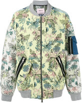 Marna Ro - floral bomber jacket - men - Cotton/Polyester/other fibers - S