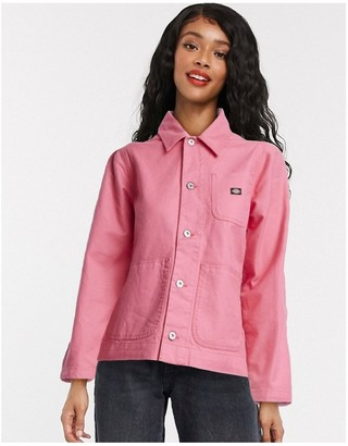 Dickies Toccoa chose jacket in rose