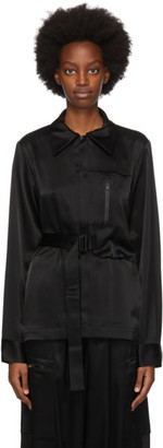 Y-3 Black CH3 Silk Shirt