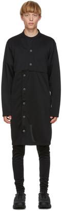 Comme des Garçons Homme Plus Black Jersey Cardigan