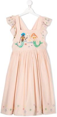 Stella McCartney TEEN mermaid embroidered s dress