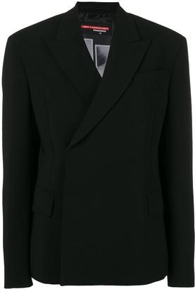 DSQUARED2 wrap front blazer