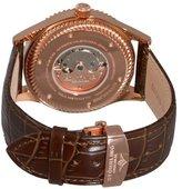 Stuhrling Original Original Augustus 91C.3345K2 46mm Automatic Stainless Steel Case Brown Calfskin krysterna Men's Watch