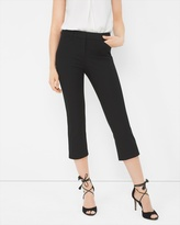 White House Black Market Slim Crop Pants