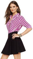 Juicy Couture Ponte Fit & Flare Skirt