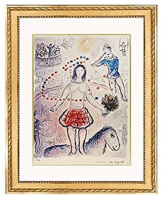 Munn Works Marc Chagall 'Circus'. Lithograph on arches paper