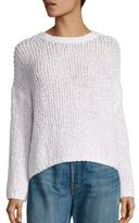Vince Merino Wool-Blend Textured Pullover