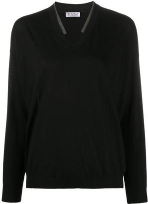 Brunello Cucinelli V-neck jumper