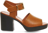 Office Mission faux-leather heeled sandals