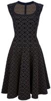 Alaïa Flared sleeveless dress