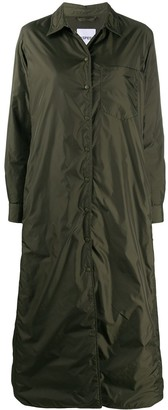 Aspesi Long Snap-Fastening Raincoat