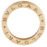 Bulgari Bvlgari B.Zero1 Band 18K Yellow Gold Ring Size 6.25