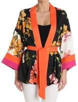 Pinko Women's Orange/black Polyester Cardigan.