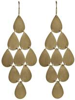 Irene Neuwirth 18kt yellow gold chandelier earrings
