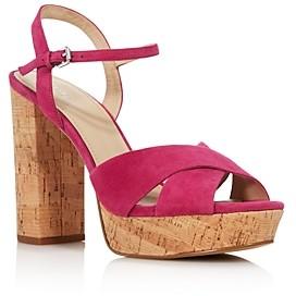 Botkier Women's Plateau Suede High-Heel Platform Sandals - 100% Exclusive