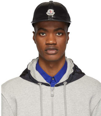 Moncler Black Padded Berretto Cap