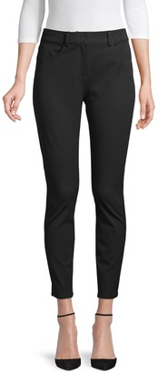 Donna Karan Cotton-Blend Skinny Pants