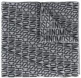 Moschino logo scarf