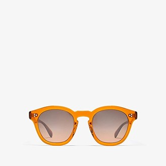 Oliver Peoples Boudreau L.A. (Smoked Topaz) Fashion Sunglasses