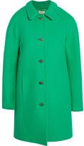 Paul & Joe Esonja Crystal-embellished Wool-blend Coat - Green