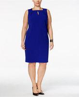 Calvin Klein Plus Size Keyhole Sheath Dress