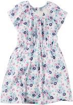 Carter's Girls' Floral Jersey Dress