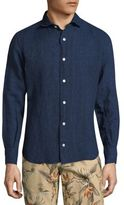 Eleventy Allover Patterned Regular-Fit Shirt