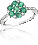 Tagliamonte Incanto Royale Emerald and Diamond 18K Gold Ring