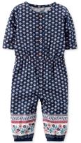 Carter's Geo-Print Jumpsuit, Baby Girls (0-24 months)