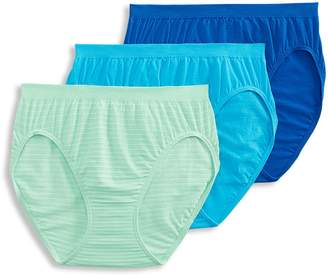 Jockey 3-Pack Comfies Cotton French Cut Briefs