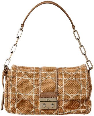 Christian Dior Woven Shoulder Bag