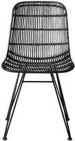 Bloomingville - Darling Rattan Chair - Black