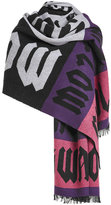 McQ by Alexander McQueen Printed Wool Scarf