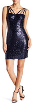 Minuet Spaghetti Strap Sequin Dress