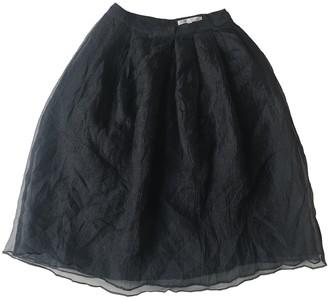 Marc Jacobs Black Silk Skirt for Women