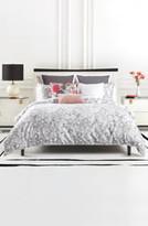 Kate Spade inky floral comforter & sham set