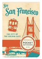 Cavallini & Co. Pocket Notebook Set San Francisco