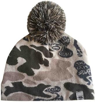 Stussy Grey Cotton Hats & pull on hats