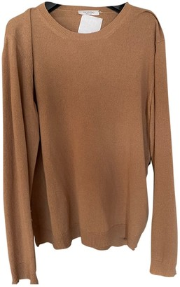 Valentino Camel Cashmere Knitwear for Women