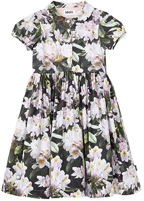 Molo Cybil (Little Kids/Big Kids) (Pretty Puppy All Over Print) Girl's Dress
