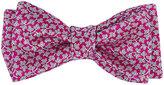 Penrose London Men's Vine-Pattern Silk Bow Tie