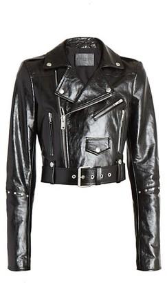 Givenchy Studded Leather Biker Jacket