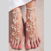 PS With Love Handmade Amira Barefoot Bridal Sandals