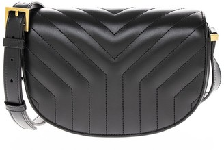 Saint Laurent Small Joan Quilted Leather Satchel