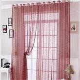 nikstoreinus Design tulle white red nice colors modern design transparent yarn bedroom