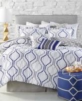 Jessica Sanders Bayview Reversible 12-Pc. King Comforter Set
