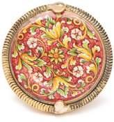 Rosantica Sicilia Tile Ring - Womens - Red Multi