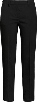 Prada Cropped Slim-Fit Trousers