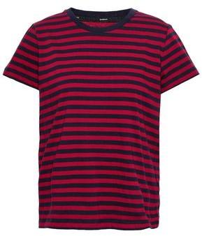 Zimmermann Striped Cotton-jersey T-shirt