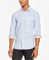 Kenneth Cole Reaction Men's Slim-Fit Chambray Diamond Shirt